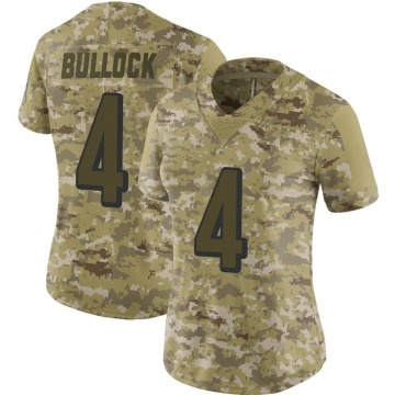 Women's Cincinnati Bengals Randy Bullock Camo Limited 2018 Salute to Service Jersey By Nike