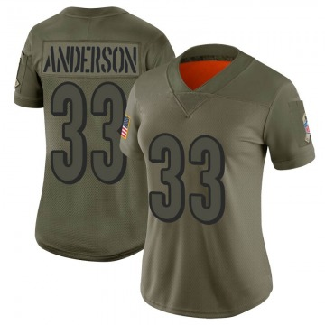 Women's Cincinnati Bengals Rodney Anderson Camo Limited 2019 Salute to Service Jersey By Nike