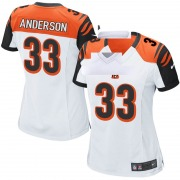 Women's Cincinnati Bengals Rodney Anderson White Game Jersey By Nike