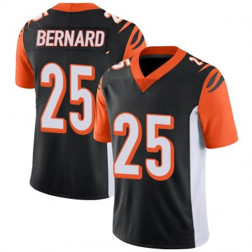 Youth Cincinnati Bengals Giovani Bernard Black Limited 100th Vapor Jersey By Nike