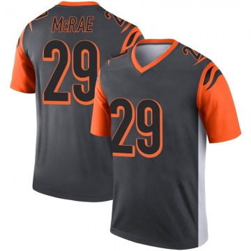 Youth Cincinnati Bengals Tony McRae Legend Inverted Silver Jersey By Nike